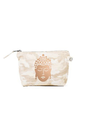 Quilted Koala Kanvas Make Up Bag Buddha - Product Mini Image