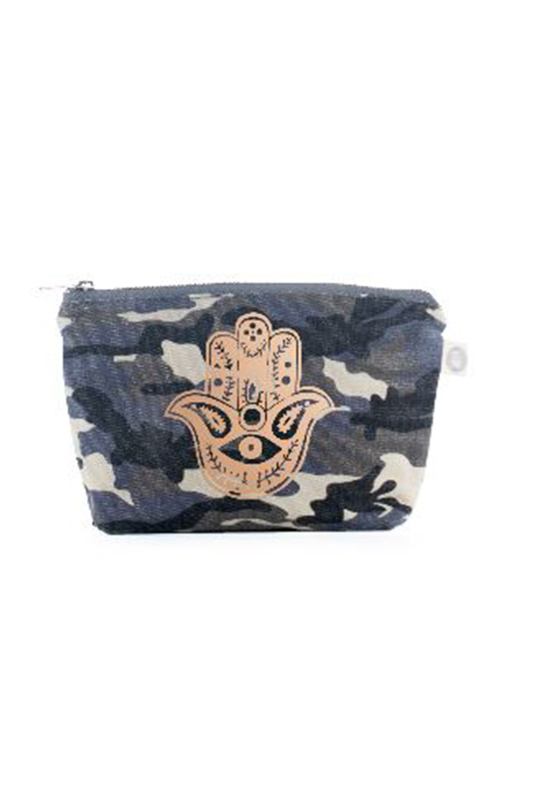 15c2bdbbad1c Quilted Koala Kanvas Make up Bag Hamsa from New York by Let s Bag It ...