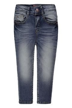 Kanz Distressed Adjustable Jeans - Product List Image