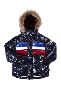 Shoptiques Product: Explorers Striped Puffer