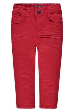 Kanz Red Adjustable Jeans - Product List Image