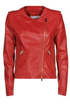 Shoptiques Product: Red Leather Jacket