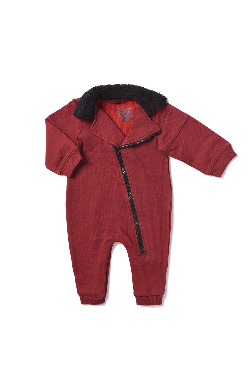 Kapital K Baby Biker Coverall - Front Cropped Image