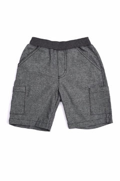 Kapital K Grey Chambray Shorts - Alternate List Image