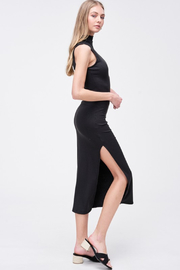 R+D  Kara Mock Neck Maxi - Front full body
