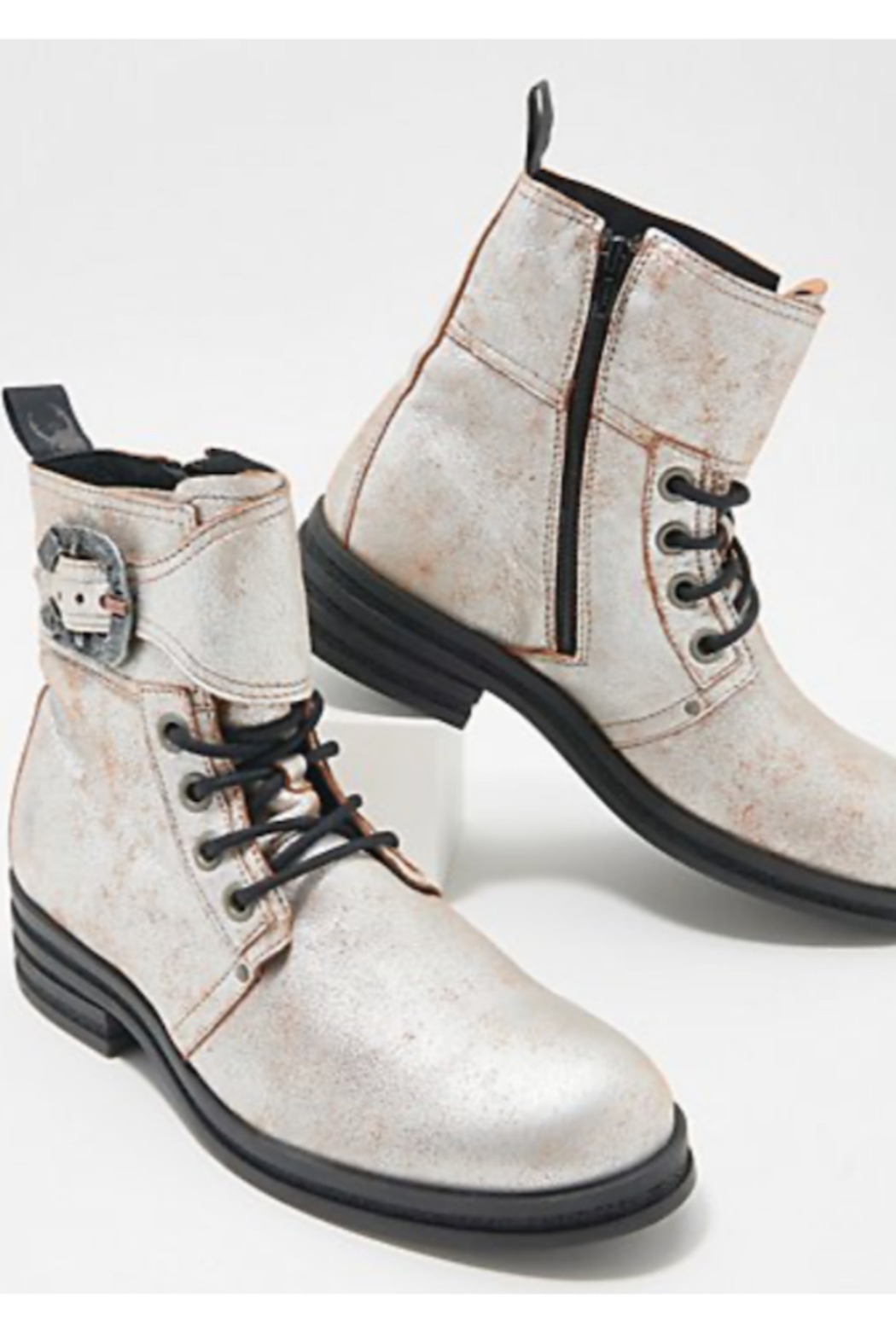 Fly London Kara Ankle Boots - Front Full Image