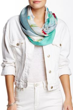 Shoptiques Product: Aqua Watercolor Scarf
