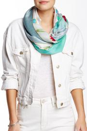 Kareena's Aqua Watercolor Scarf - Product Mini Image