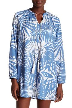 Kareena's Baby Blue Palm Cover Up - Product List Image