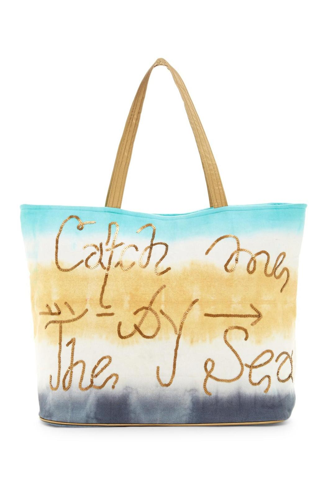Kareena's Beach Tote - Front Cropped Image