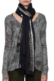 Kareena's Beaded Scarf - Back cropped