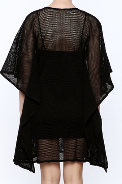 Kareena's Black Embellished Kaftan - Alternate List Image