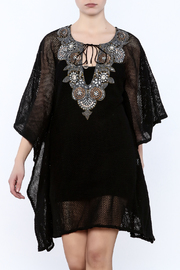 Kareena's Black Embellished Kaftan - Product Mini Image