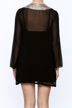 Kareena's Black Embellished Tunic - Alternate List Image