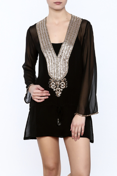 Kareena's Black Embellished Tunic - Product List Image