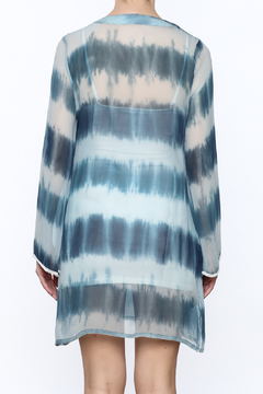 Kareena's Blue Tie Dye Kaftan - Alternate List Image