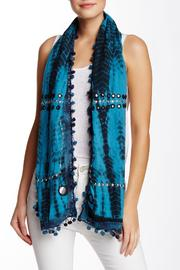 Kareena's Blue Tie Dye Scarf - Product Mini Image