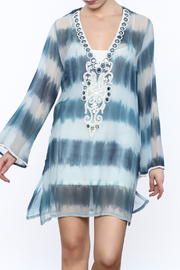 Kareena's Blue Tie Dye Kaftan - Product Mini Image