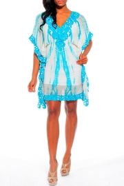 Kareena's Blue Tie Dye Caftan - Product Mini Image
