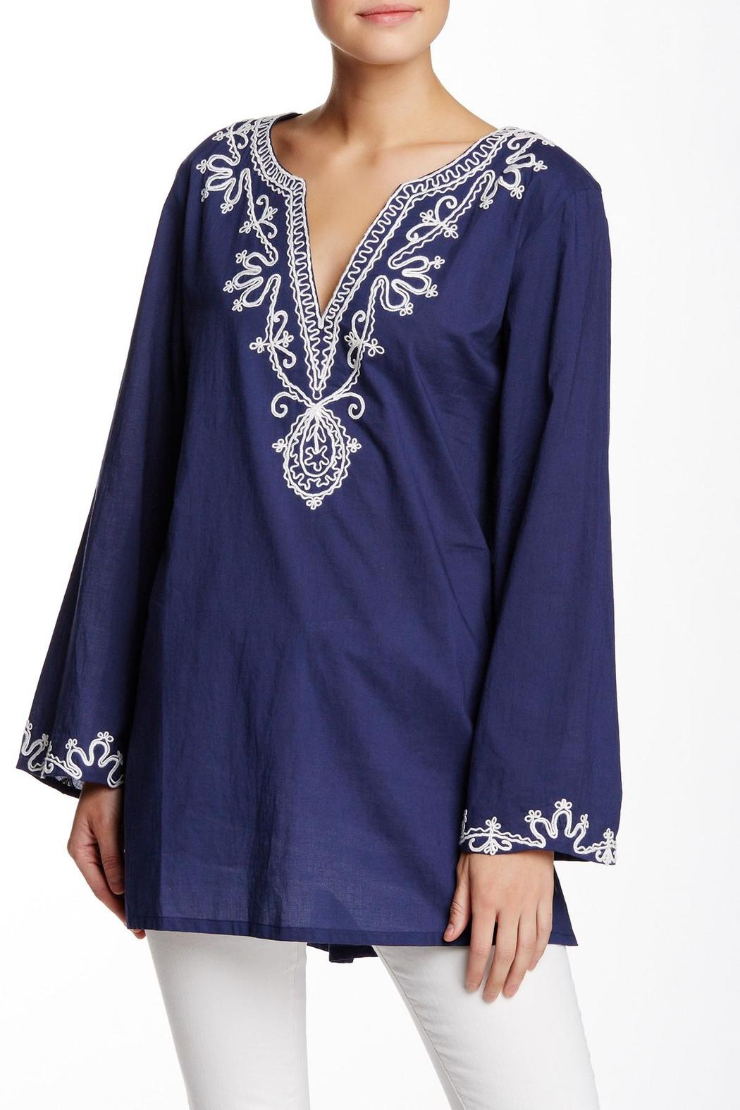 Kareena's Blue Tunic - Front Cropped Image