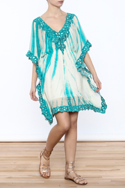 Kareena's Tie Dye Kaftan - Front full body