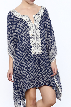 Kareena's Blue With White Kaftan - Product List Image