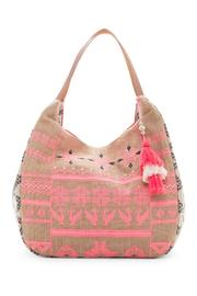 Kareena's Coral Flowers Bag - Product Mini Image