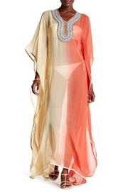 Kareena's Coral Ombre Kaftan Cover Up - Product Mini Image