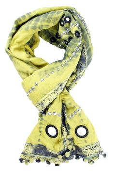 Shoptiques Product: Cotton Mirrored Scarves