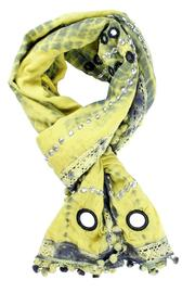 Kareena's Cotton Mirrored Scarves - Product Mini Image