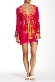 Kareena's Embellished Fuschia Tunic - Product Mini Image