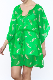 Kareena's Green Cover-Up - Front cropped