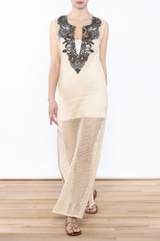 Kareena's Ivory Net Tunic - Product Mini Image