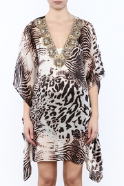 Kareena's Leopard Print Kaftan - Side cropped
