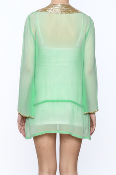 Kareena's Mint Embellished Tunic - Alternate List Image