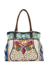 Kareena's Owl Sequined Tote - Product Mini Image