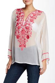 Kareena's Pink Embroidery Design Top - Product Mini Image