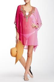 Kareena's Pink Ombre Kaftan - Front cropped
