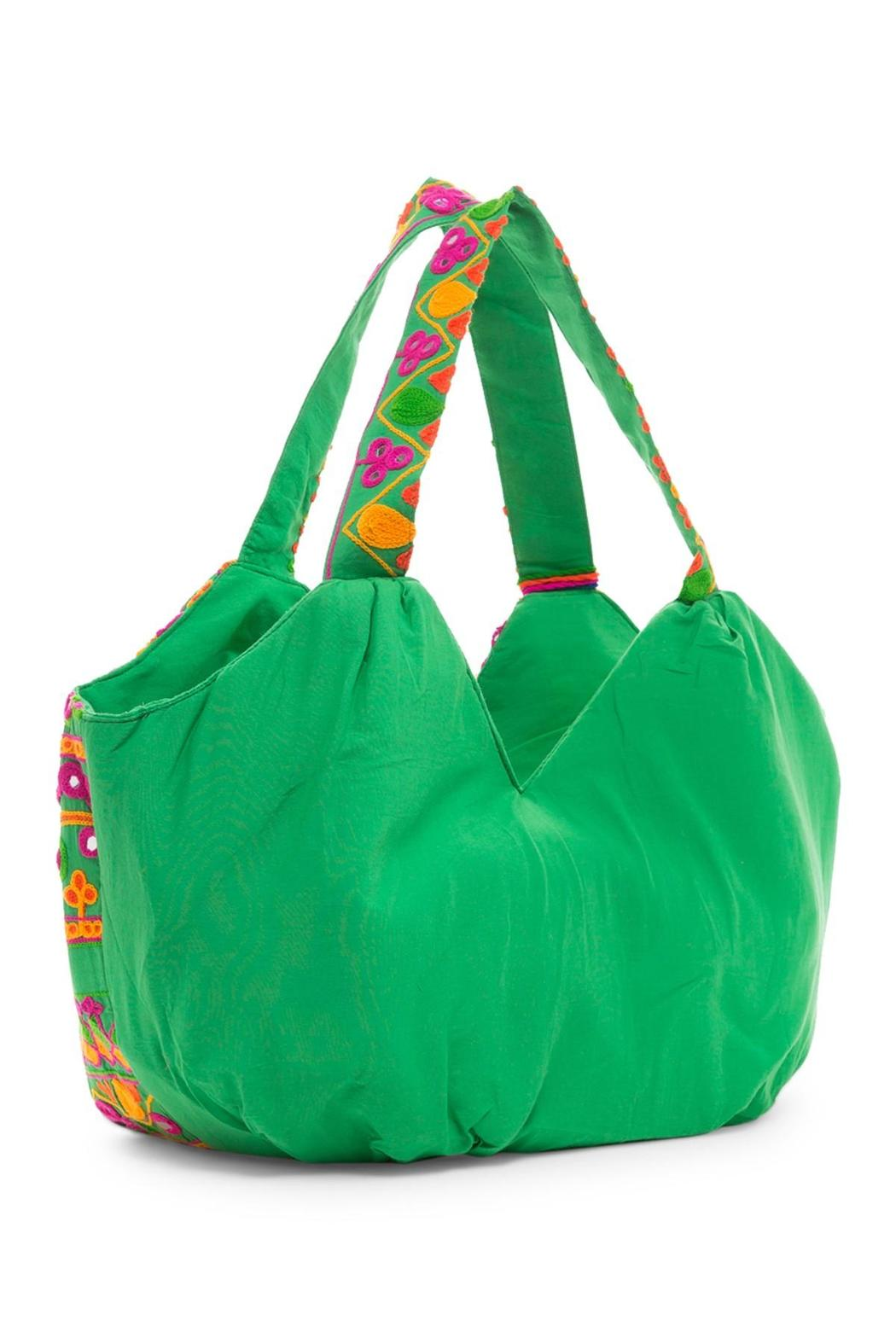 Kareena's Puffy Embroidery Tote - Front Full Image