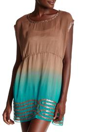 Kareena's Turquoise Ombre Tunic - Product Mini Image