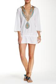 Kareena's White Beaded Tunic - Product Mini Image