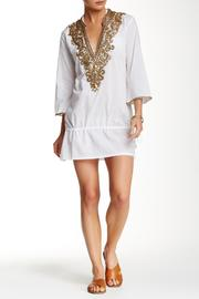 Kareena's White Embellished Tunic - Product Mini Image