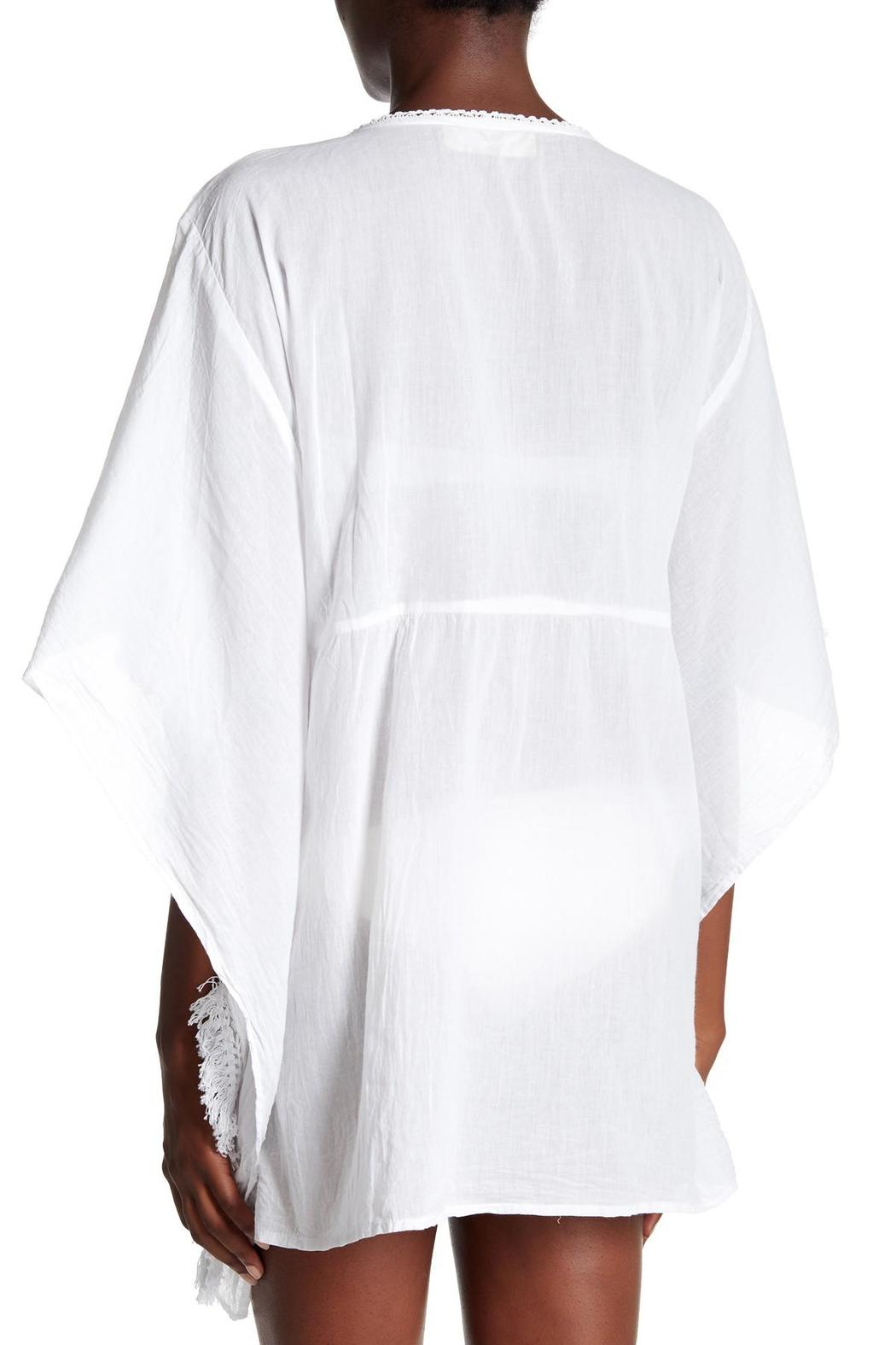 Kareena's White Kaftan Cover Up - Front Full Image