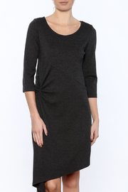 Karen Klein Grey Knit Dress - Product Mini Image