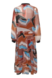 KAREN BY SIMONSEN Midi Printed Dress - Front full body