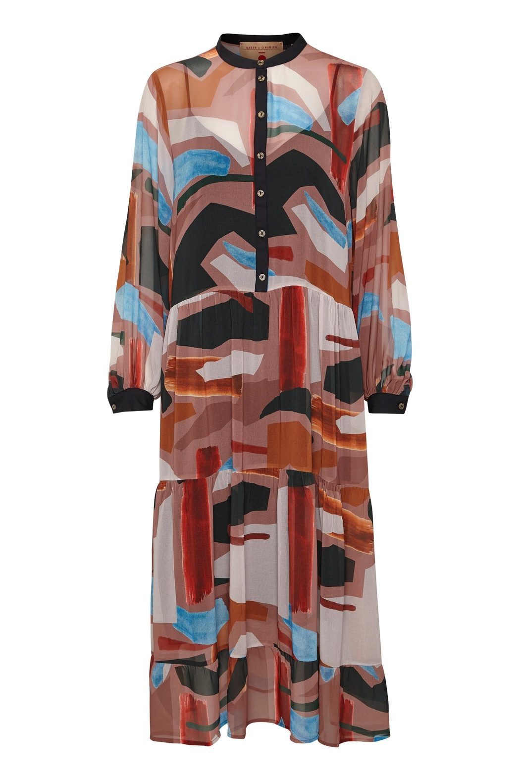 KAREN BY SIMONSEN Midi Printed Dress - Main Image
