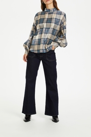 KAREN BY SIMONSEN Oversized Checked Blouse - Product Mini Image
