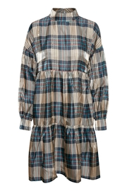 KAREN BY SIMONSEN Oversized Checked Dress - Product Mini Image