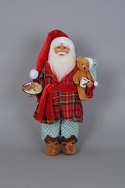 Karen Didion Originals Milk Cookies Santa - Product Mini Image