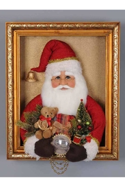 Karen Didion Originals Vintage Framed Santa - Product Mini Image